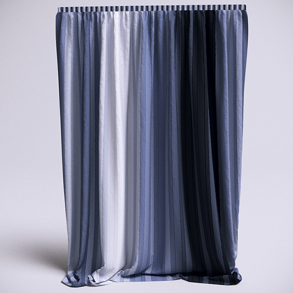 Curtain - 3 (VrayC4D) - 3DOcean Item for Sale