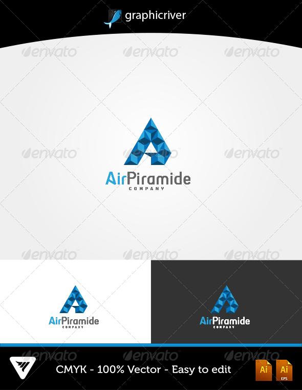 GraphicRiver AirPiramide Logo 6483560