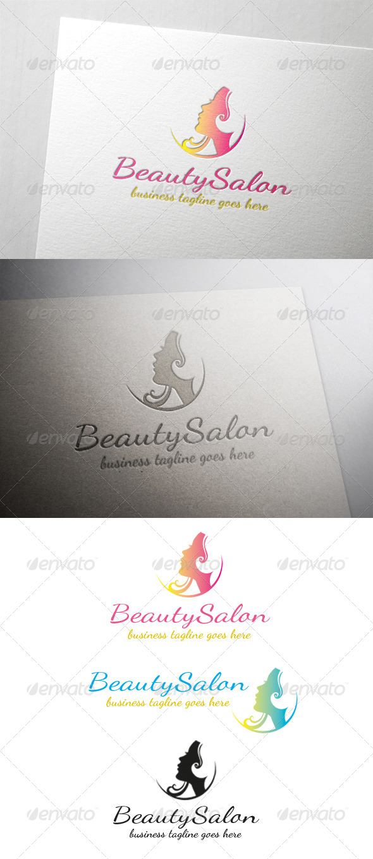 GraphicRiver Beauty Salon Logo 6484023