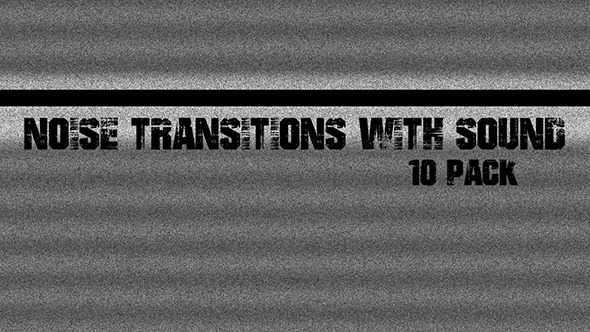 Noise Transitions With Sound