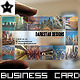 Transparent Picture Gallery Business Card