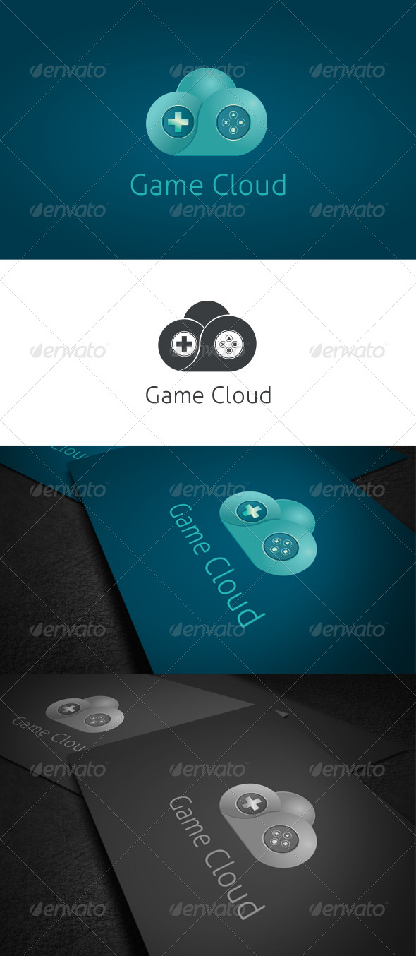 GraphicRiver Game Cloud Logo Template 6485131