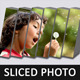 Sliced Photo Display Action - GraphicRiver Item for Sale
