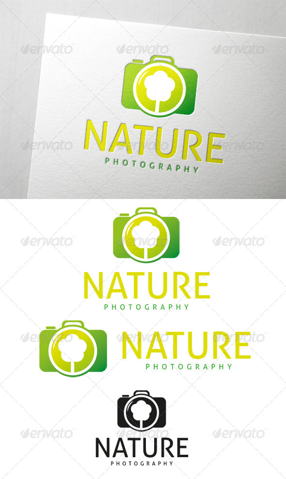 GraphicRiver Nature Photography Logo 6485921