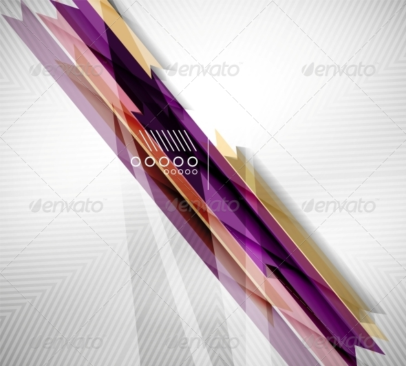 GraphicRiver Geometric Shape Straight Stripes Background 6485936