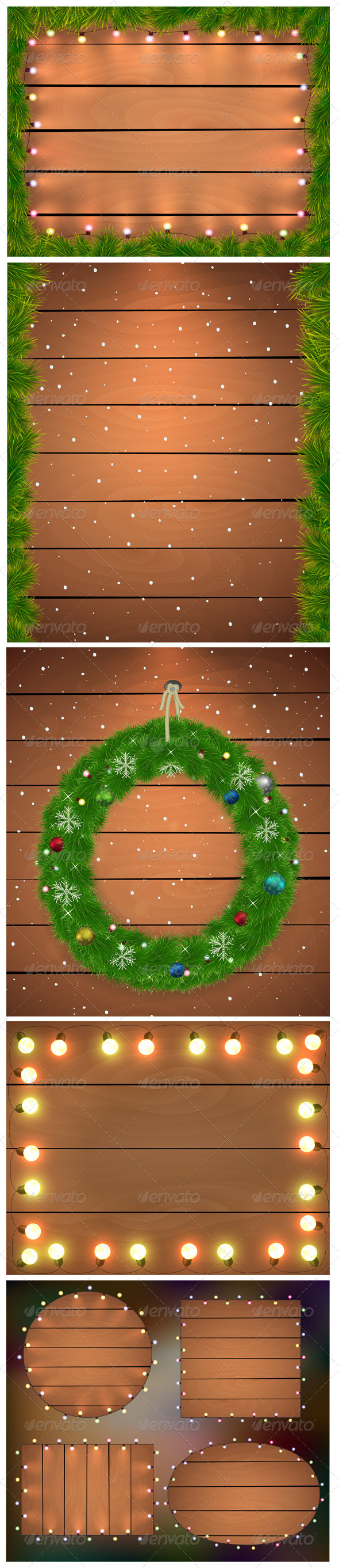 GraphicRiver Christmas Backgrounds 6485971