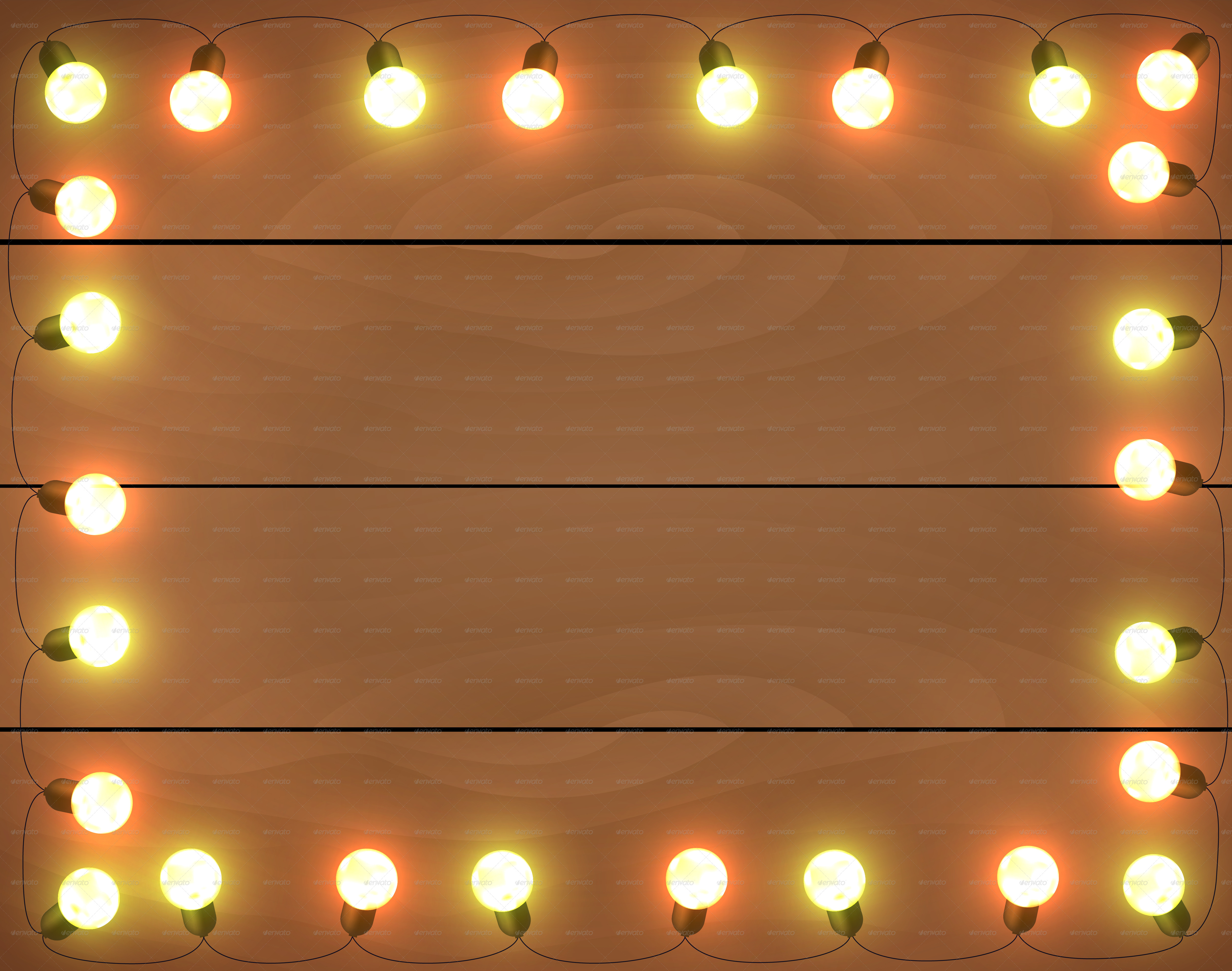 Christmas Lights Graphic