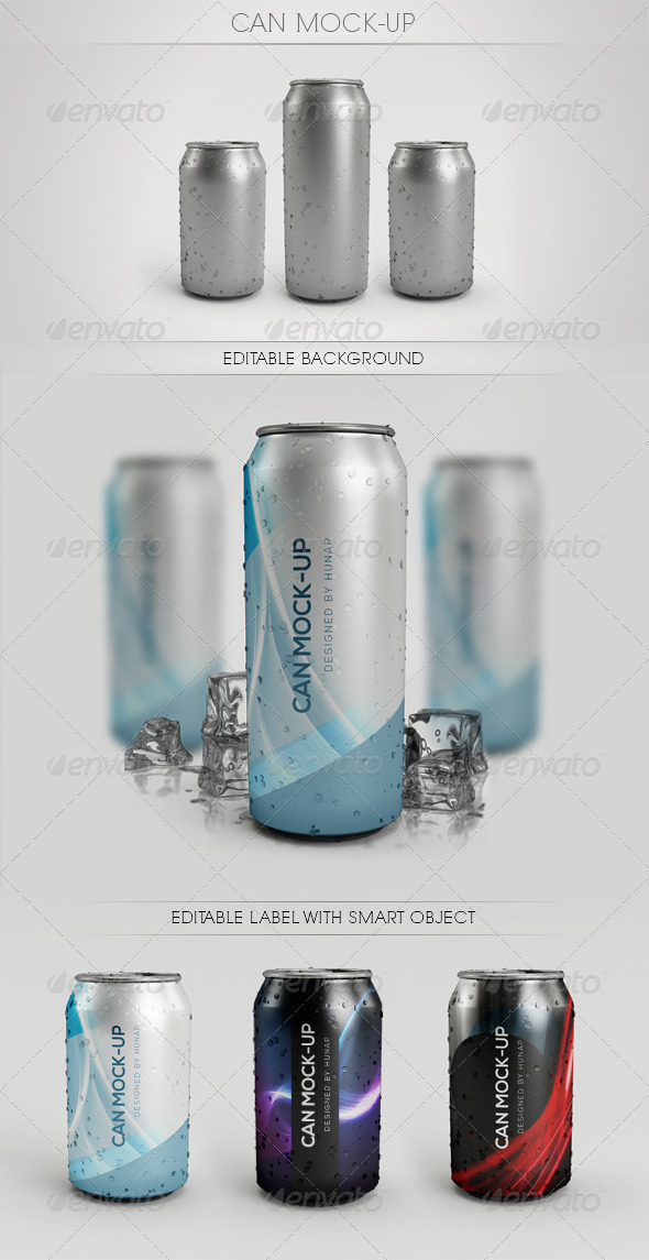GraphicRiver Can Mock Up 6486079