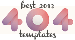Best 2013 - 404 Error Templates