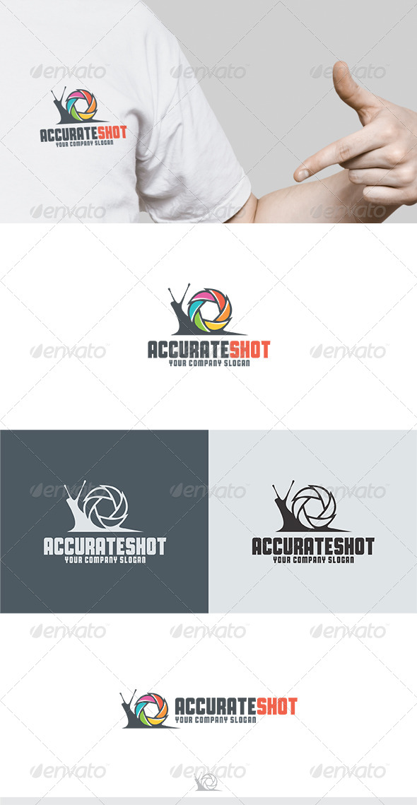 Accurate Shot Logo - Animals Logo Templates