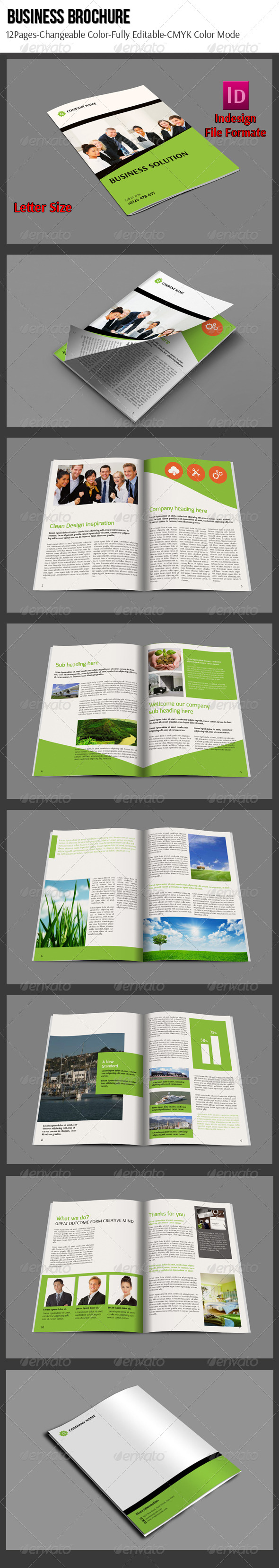GraphicRiver Business Brochure 6486294