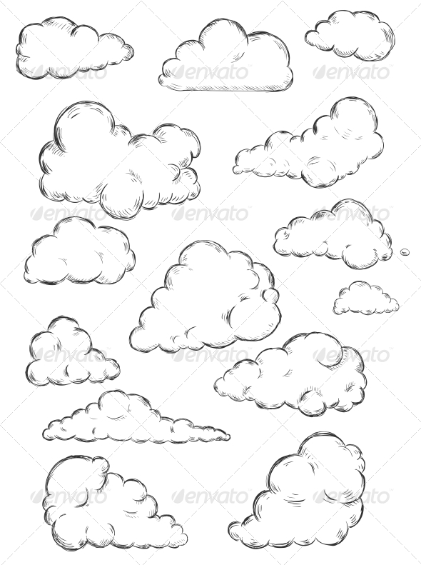 Clouds Sketch