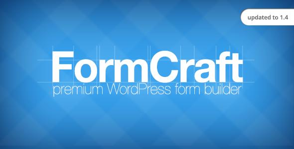 FormCraft v1.4 – CodeCanyon Premium WordPress Form Builder