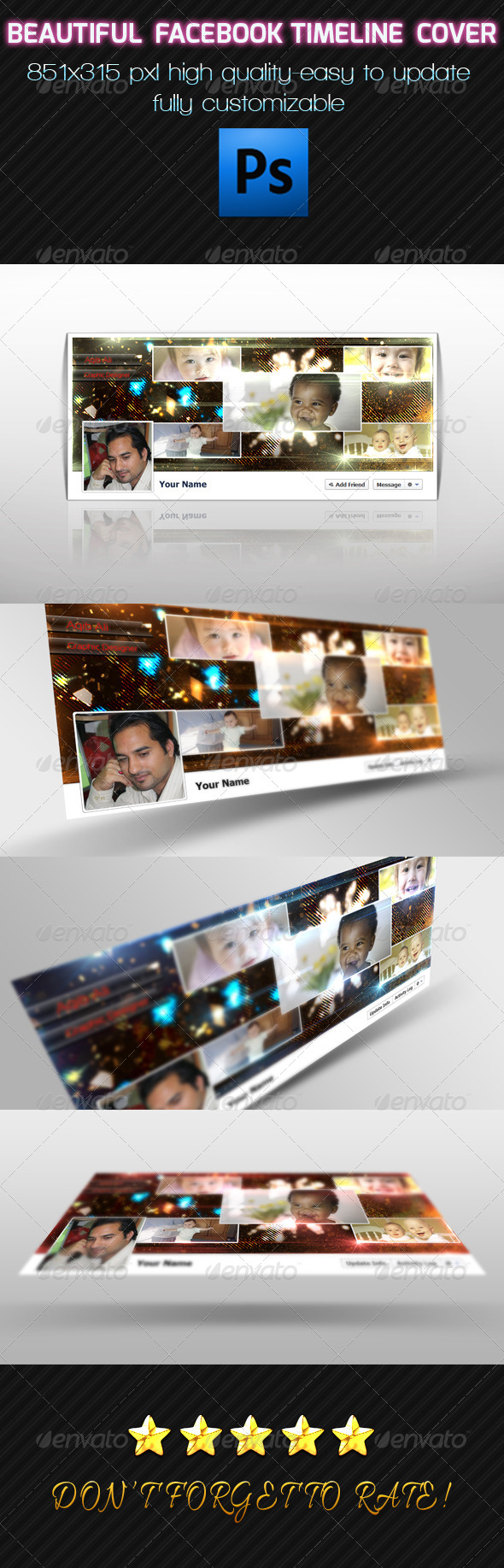 GraphicRiver Facebook timeline 03 6487231