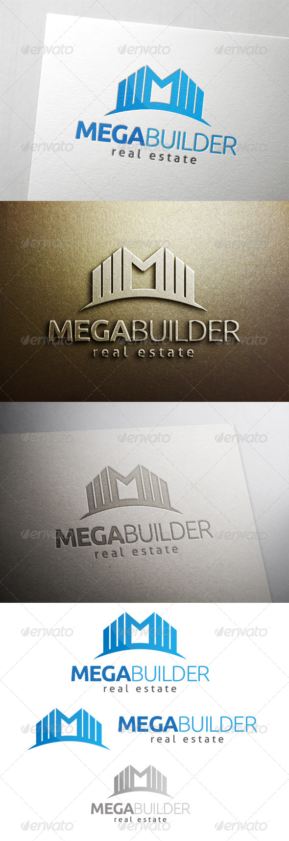 GraphicRiver Mega Building Logo 6487296
