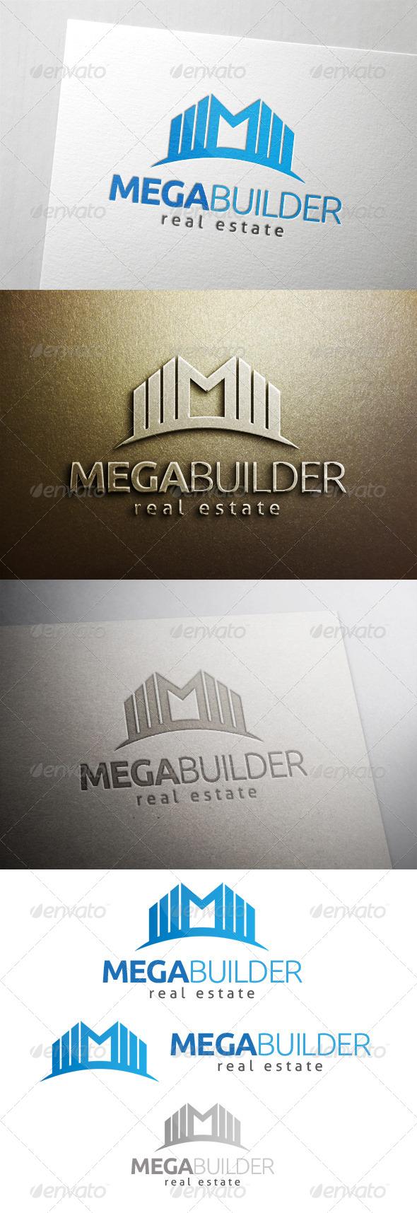 GraphicRiver Mega Building Logo 6487296