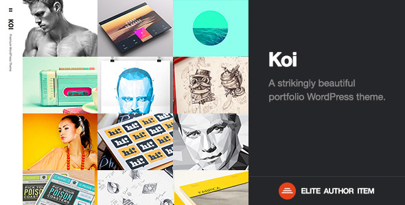 Koi | Responsive Portfolio WordPress Theme