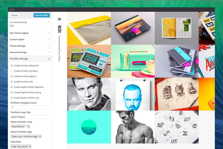 Koi | Responsive Portfolio WordPress Theme