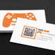 Gaming Business Card - 2 in 1 - GraphicRiver Item for Sale