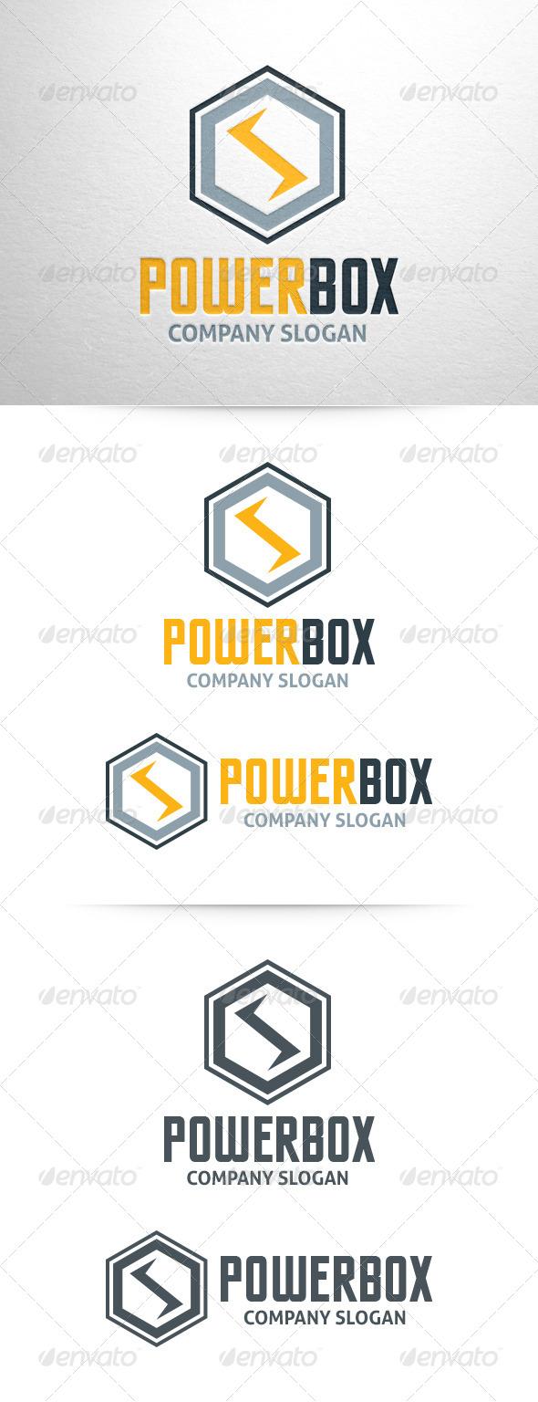 GraphicRiver Power Box Logo Template 6487596
