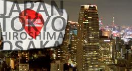 Japan, Tokyo, Hiroshima, Osaka