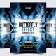 Butterfly Effect Party Flyer/Poster - 06 - GraphicRiver Item for Sale