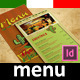Mexican Trifold Menu - GraphicRiver Item for Sale