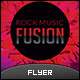 Rock Fusion Music Flyer - GraphicRiver Item for Sale