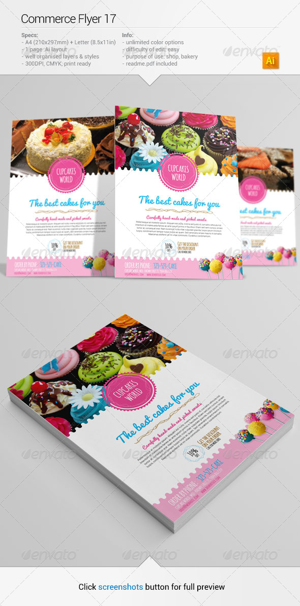 GraphicRiver Commerce Flyer 17 6489231