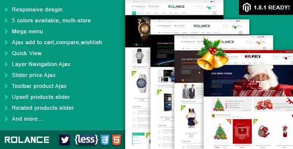 SNS Rolance-Responsive Multipurpose Magento Theme