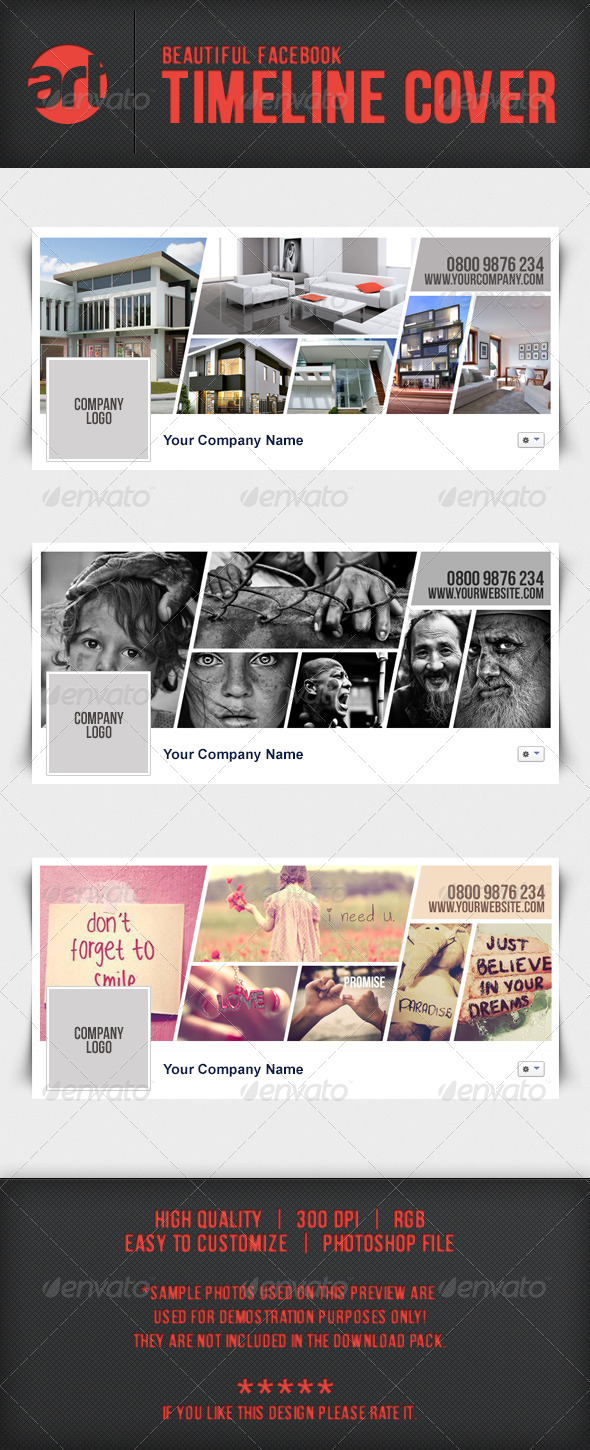 GraphicRiver Beautiful Facebook Timeline Cover 6489798