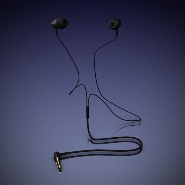 3DOcean Headphones in-ear 6490107
