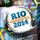 Carnaval 2014 Flyer Template - GraphicRiver Item for Sale