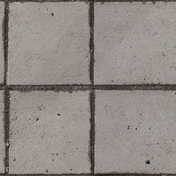Concrete Tiles Seamless - 3DOcean Item for Sale