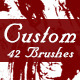 Custom Brushes - GraphicRiver Item for Sale