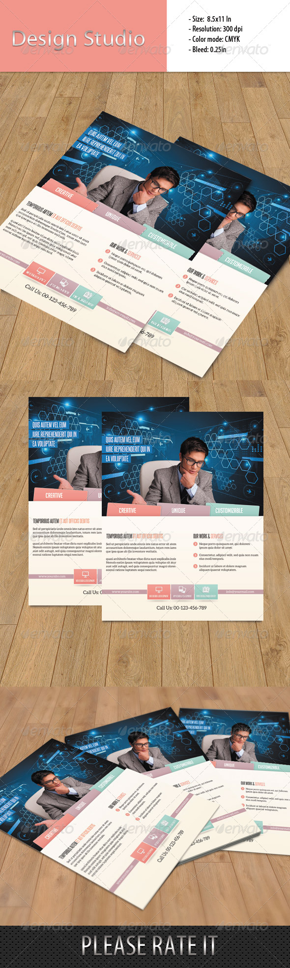 GraphicRiver Flyer Design Studio 6490505