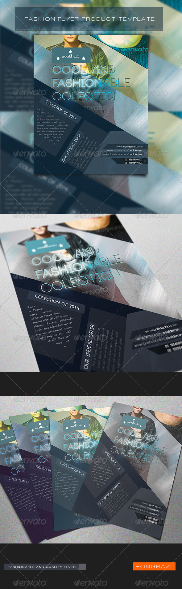 GraphicRiver Fashion Product Flyer Template 1.0 6490597