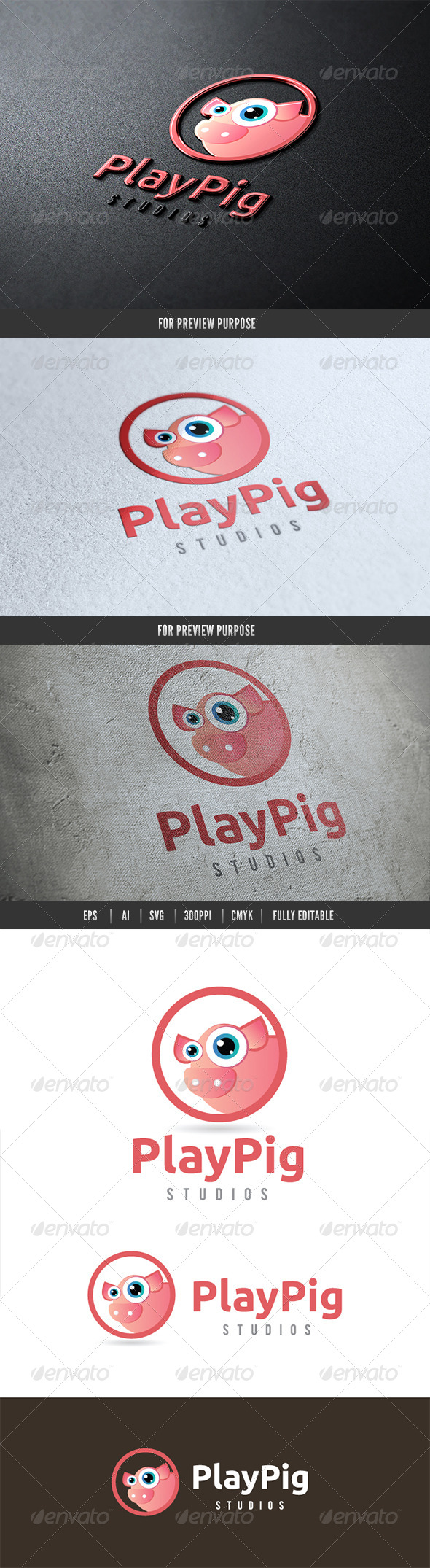 GraphicRiver Play Pig 6490601