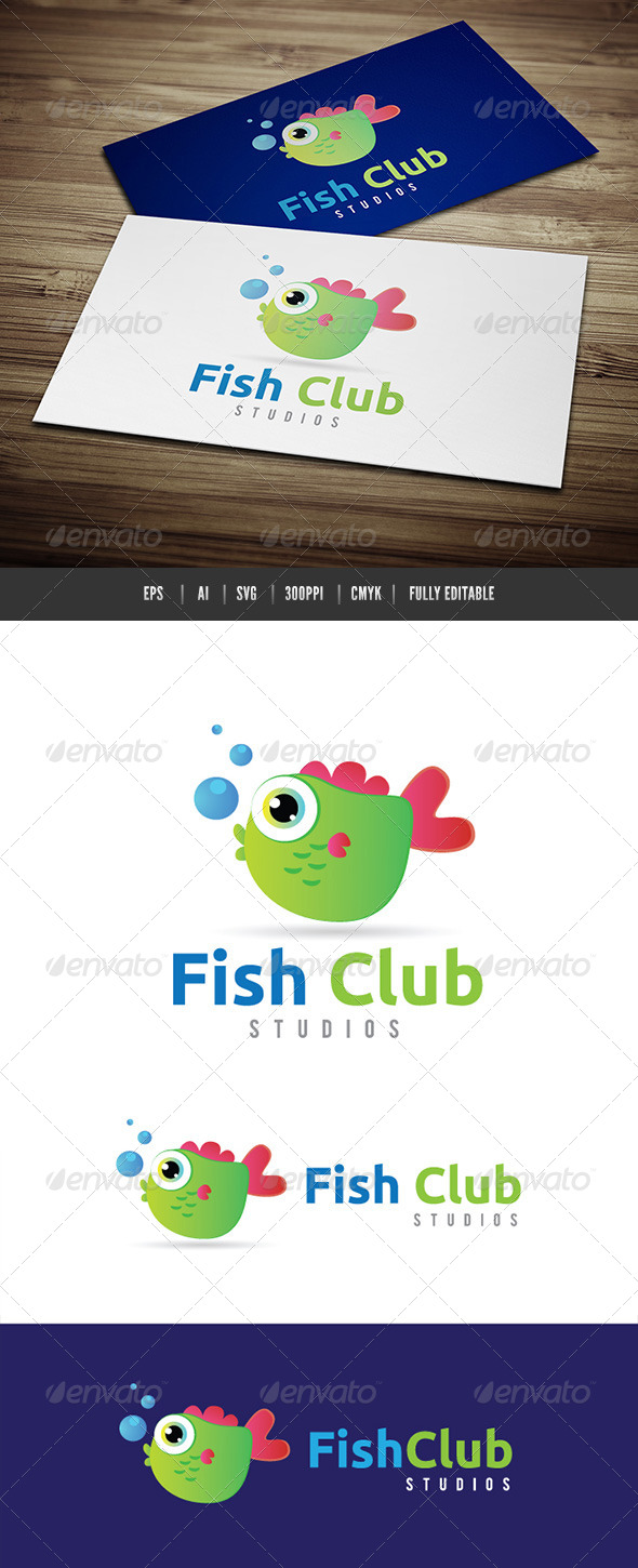 GraphicRiver Fish Club 6490678