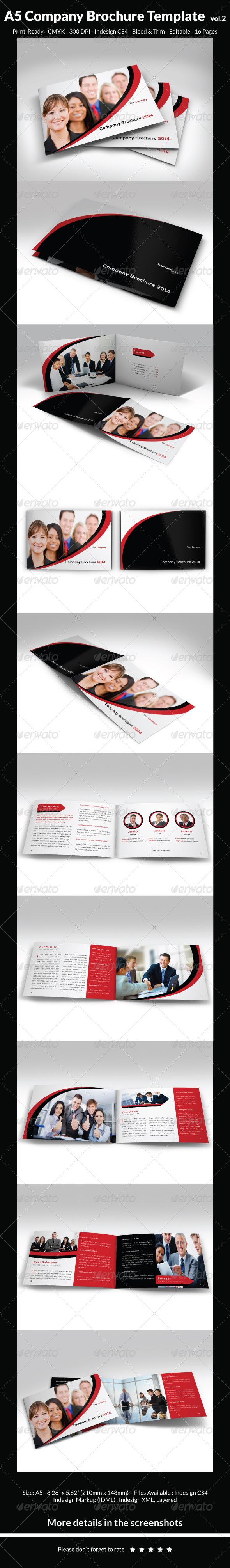 GraphicRiver A5 Company Brochure Template vol.2 6475737