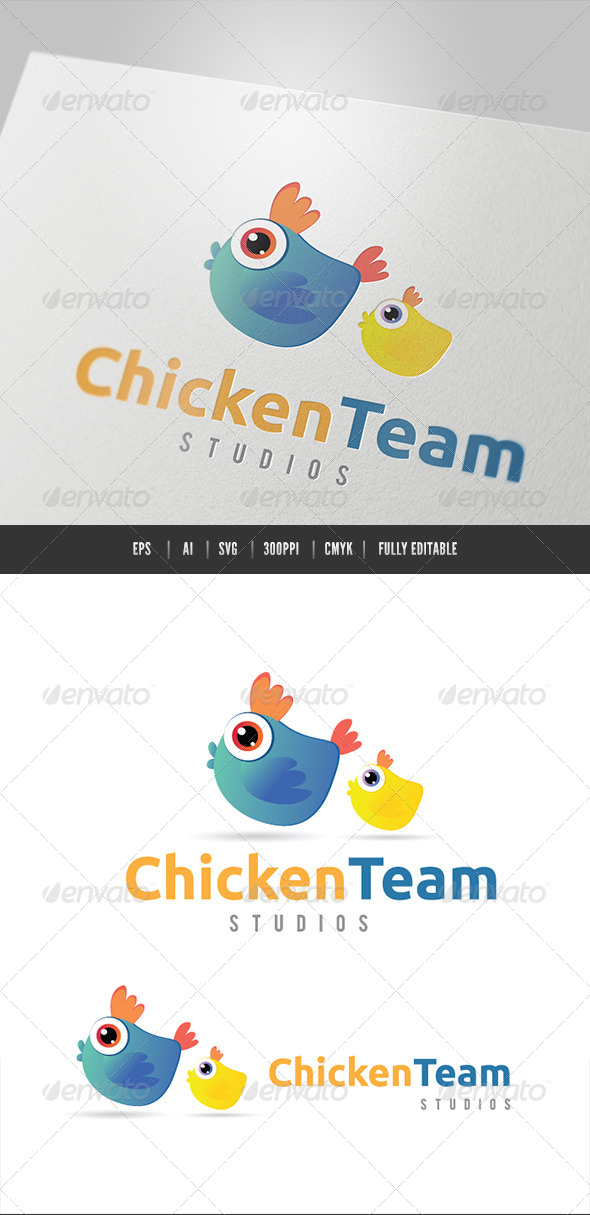 GraphicRiver Chicken Team 6490727