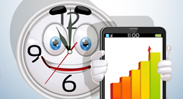 Clock character