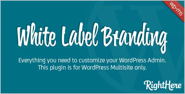White Label Branding for WordPress Multisite v3.2.5 | CodeCanyon