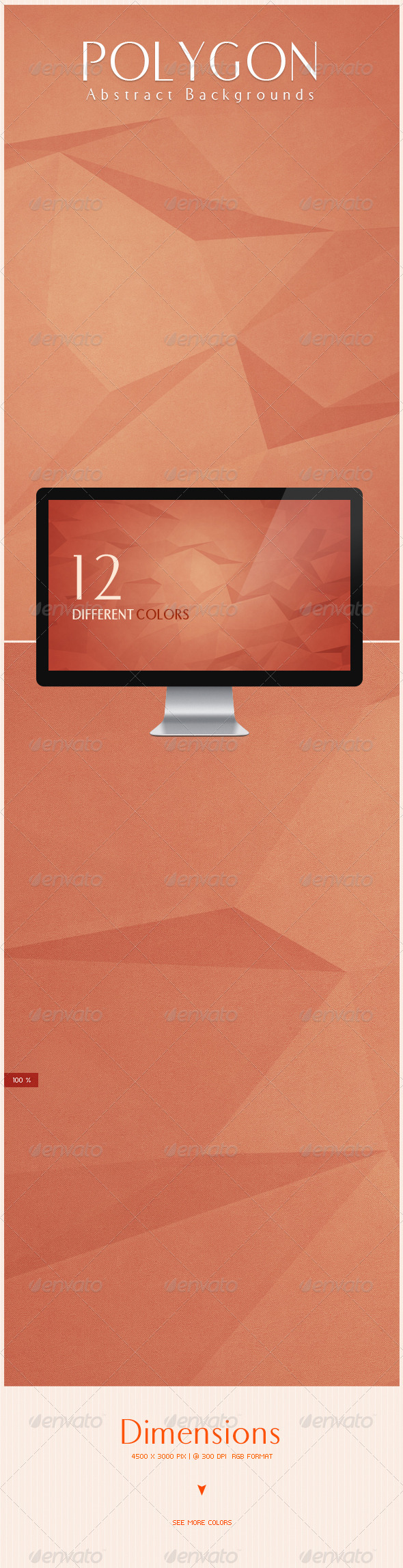 GraphicRiver Polygon Abstract Backgrounds 6491153