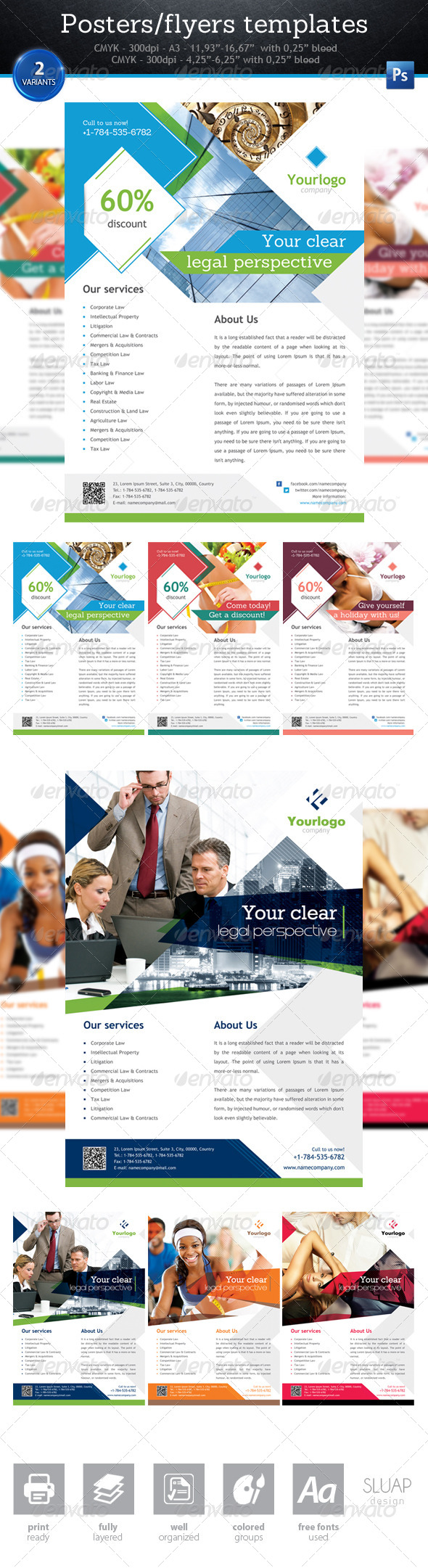 Posters/Flyers Templates - Corporate Flyers