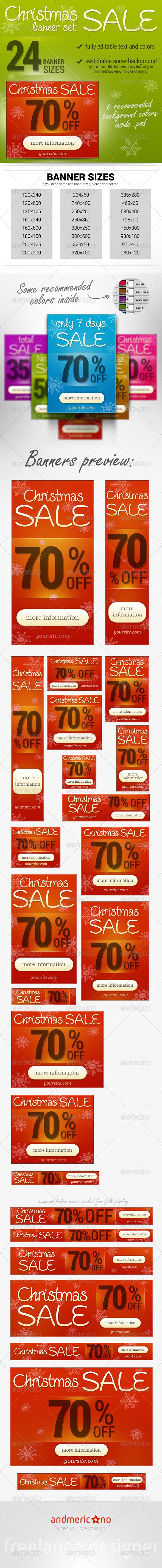 GraphicRiver Sales Promote Banner Set 6491726