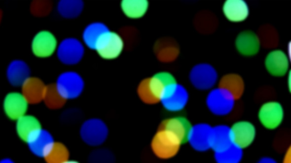 Background Bokeh Lights Small Size