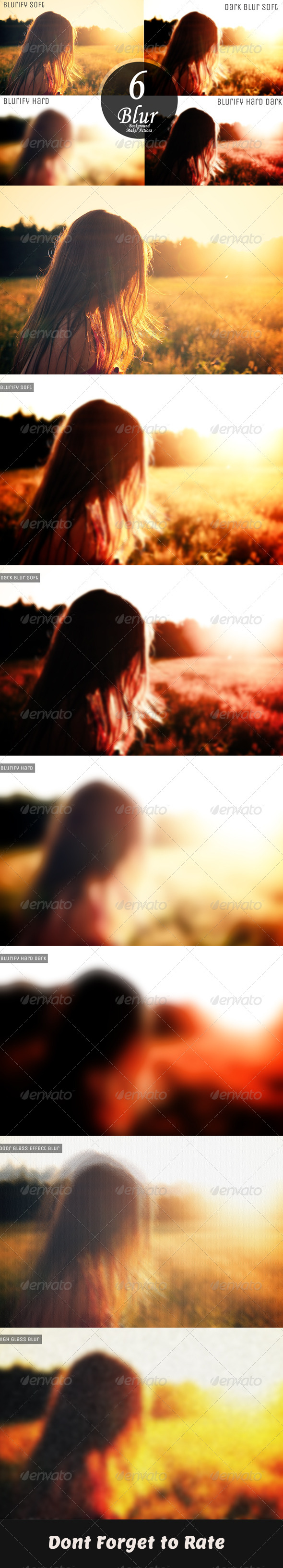 GraphicRiver 6 Background Blurring Action 6493025