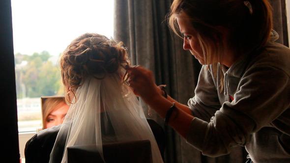 Bride Style Hair 1