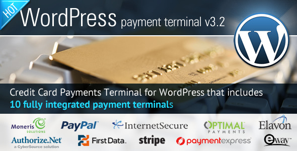 Credit Card Payments Wordpress - CodeCanyon Item for Sale